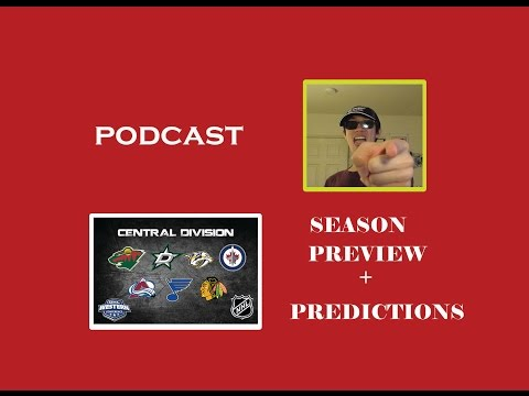 (PODCAST) NHL CENTRAL DIVISION PREVIEW