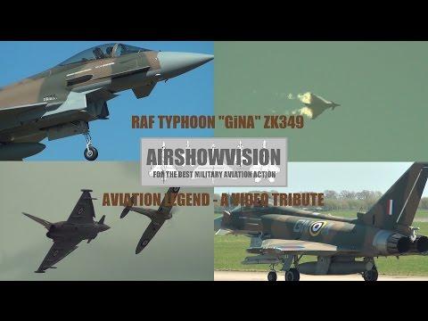 "RAF TYPHOON ""GiNA"" SPECIAL (airshowvision)"