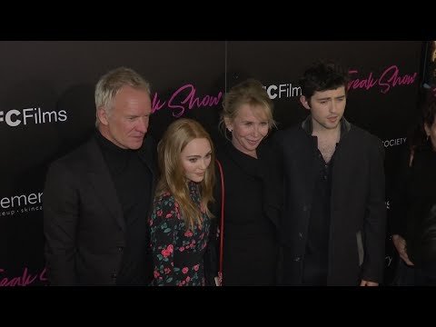 Sting 'proud' of wife Trudie Styler