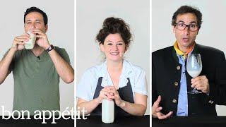 Experts Try 25 Cereal Milks | Bon Appetit