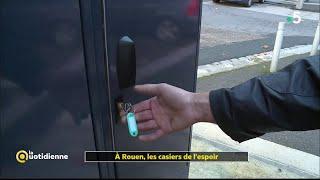 Des casiers solidaires pour les SDF de Rouen - La Quotidienne