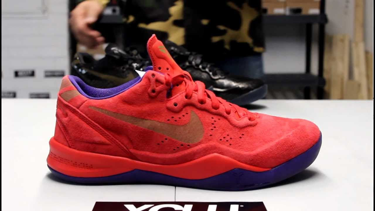 68f00bb5efc1 Nike Kobe 8 EXT Year of the Sneak Red Suede Unboxing at Exclucity ...