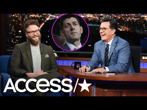 Seth Rogen Shuts Down Paul Ryan's Photo Request: 'No Way, Man!' | Access