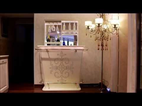 Mobile bar motorizzato esclusiva arredi e camini youtube - Mobile bar per casa ...