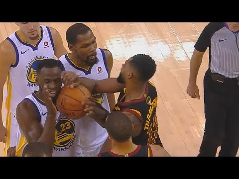 Draymond Green Taunts Tristan Thompson After He Gets Ejected & Both Scuffle! Warriors vs Cavaliers