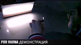 ДЕМОНСТРАЦИЯ ОБУЧЕНИЕ / РЕМОНТ НА ВДЛЪБНАТИНИ с PDR VARNA