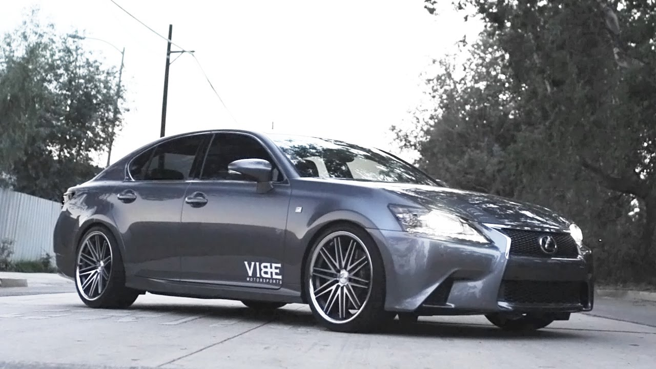 2017 Lexus Gs350 F Sport On Cs16 Concept One Wheels And Borla Exhaust You