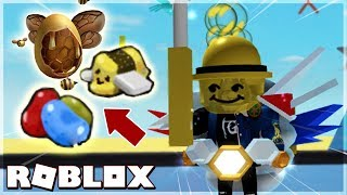 EASTER EGG-Bean 7 COLOR-BEE MARSHMALLOW IN BEE SWARM SIMULATOR (Roblox)