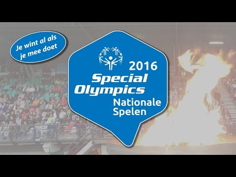 Videoreportage Special Olympics Nationale Spelen 2016