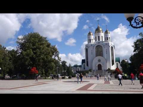 Площадь победы. Калининград.