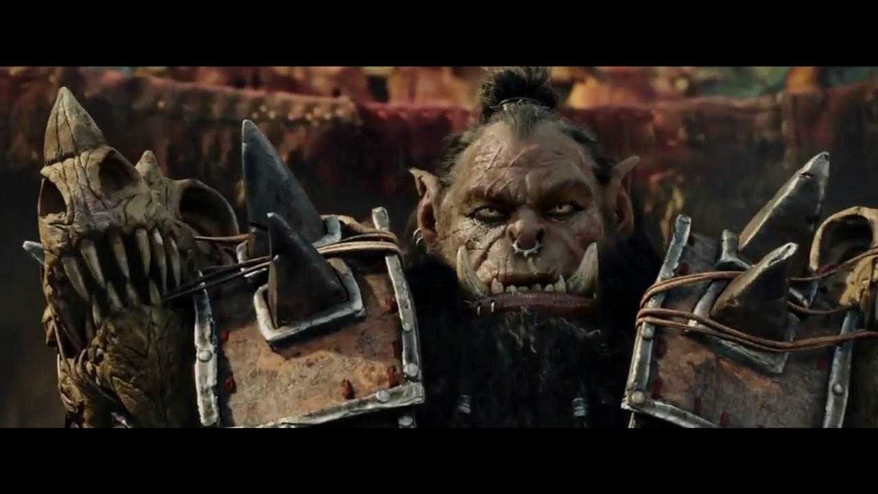 warcraft movie durotan vs guldan youtube