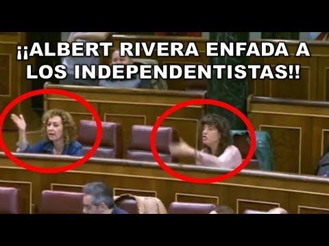 El ZASCA de ALBERT RIVERA que INCENDIA a los INDEPENDENTISTAS de ERC por el CUPO VASCO