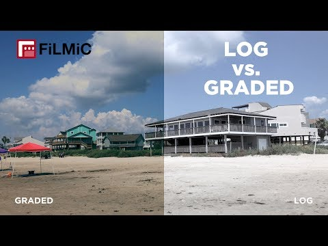 Shooting + Color Correcting FiLMiC PRO Log