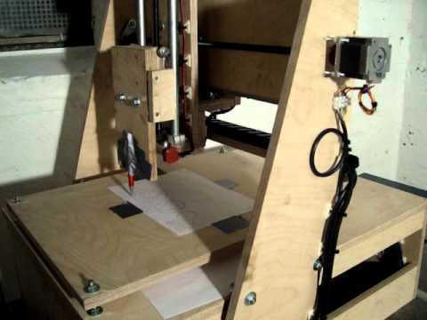 eigenbau cnc fr se youtube. Black Bedroom Furniture Sets. Home Design Ideas