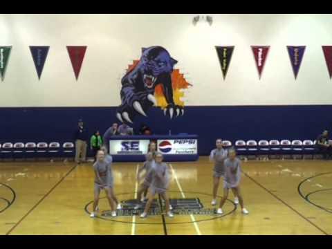 Westfall Middle School Cheerleaders
