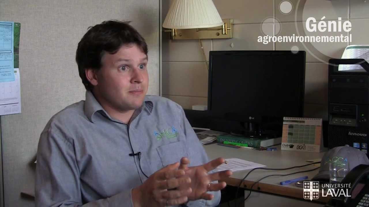 Le programme de génie agroenvironnemental de l'Université Laval