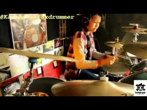 The Chainsmokers ft Halsey - Closer Drum Cover by 11 yo Kalonica NICX
