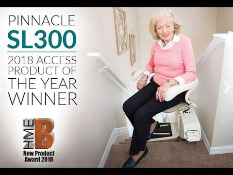 Best USA Entry Stairlift In The World! Full Review of the Harmar Pinnacle SL300 Stair Chair Lift