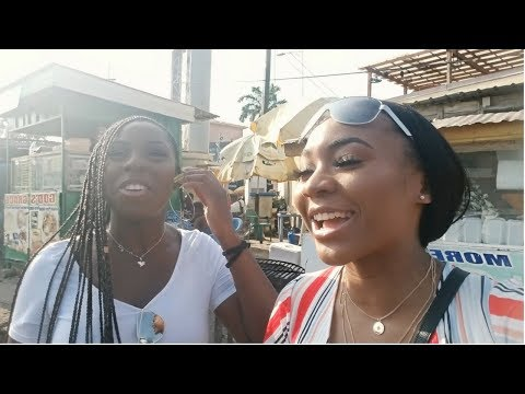 OFFICIALLY GHANA GIRLS 🇬🇭 (Osu market,Independence square + more) | #GhVlog4