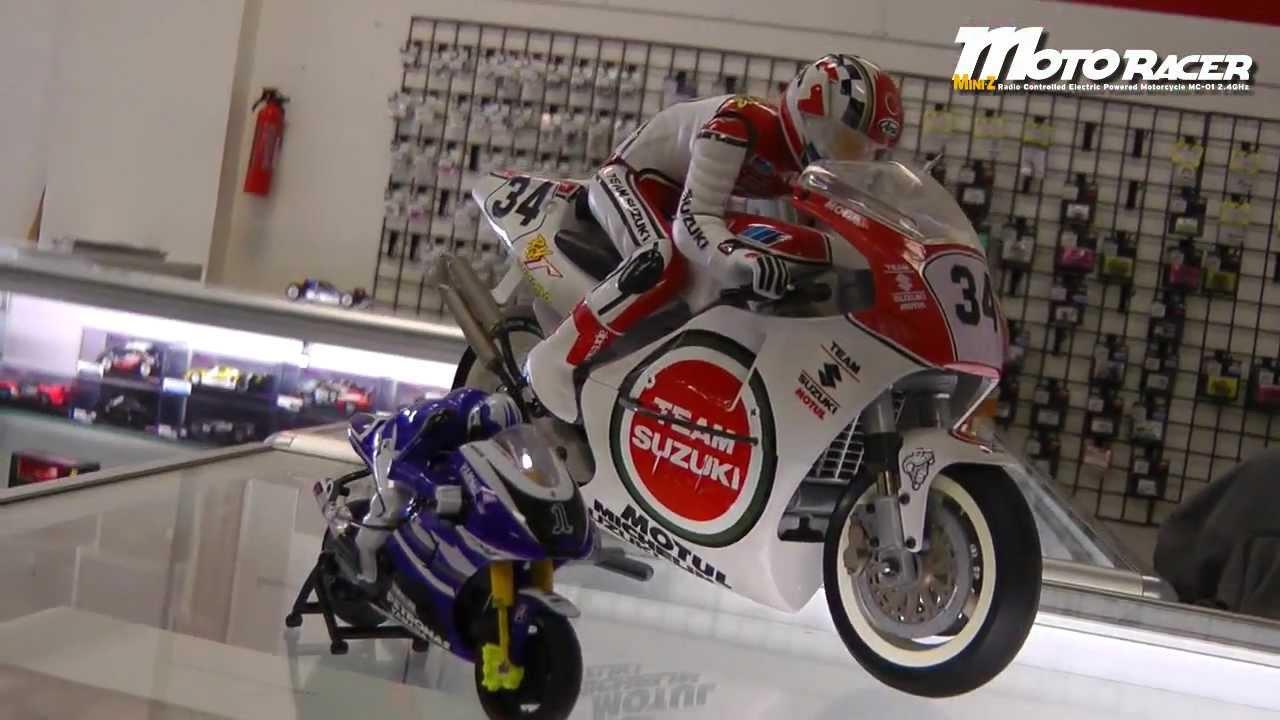 Kyosho Mini-Z Moto Racer Yamaha MotoGP - YouTube
