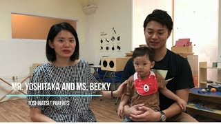 [ SMIK TESTIMONIALS ] Mr. Yoshitaka and Ms.Becky - Toshi's Parents
