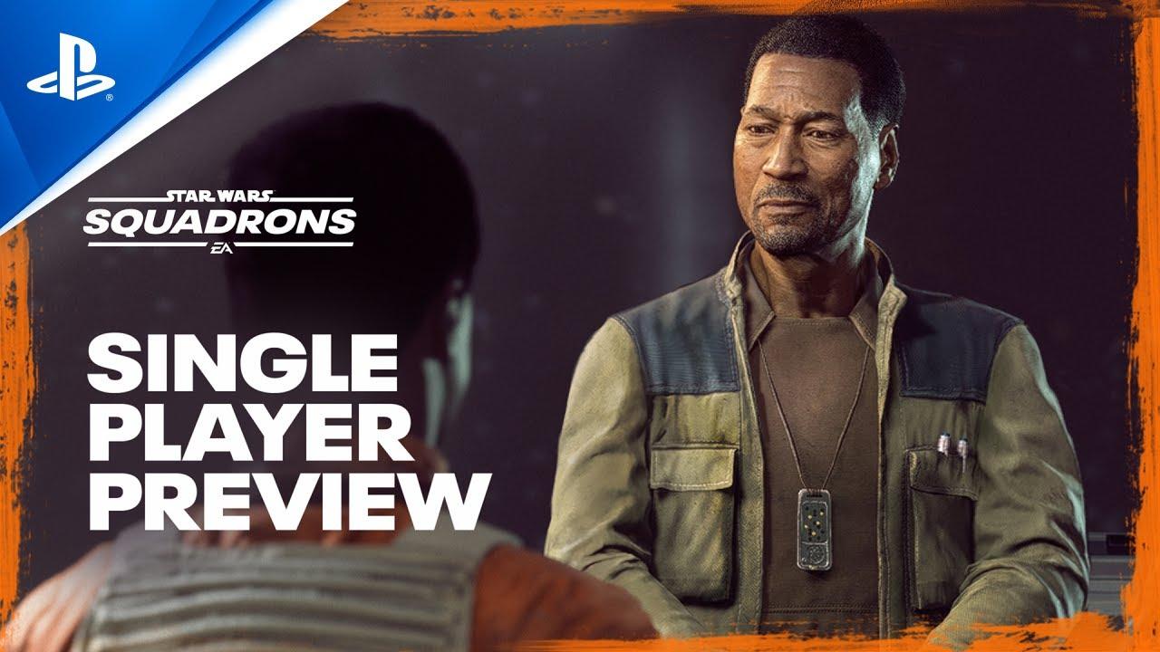 Star Wars: Squadrons - Muestra oficial de un jugador | PS4, PS RV