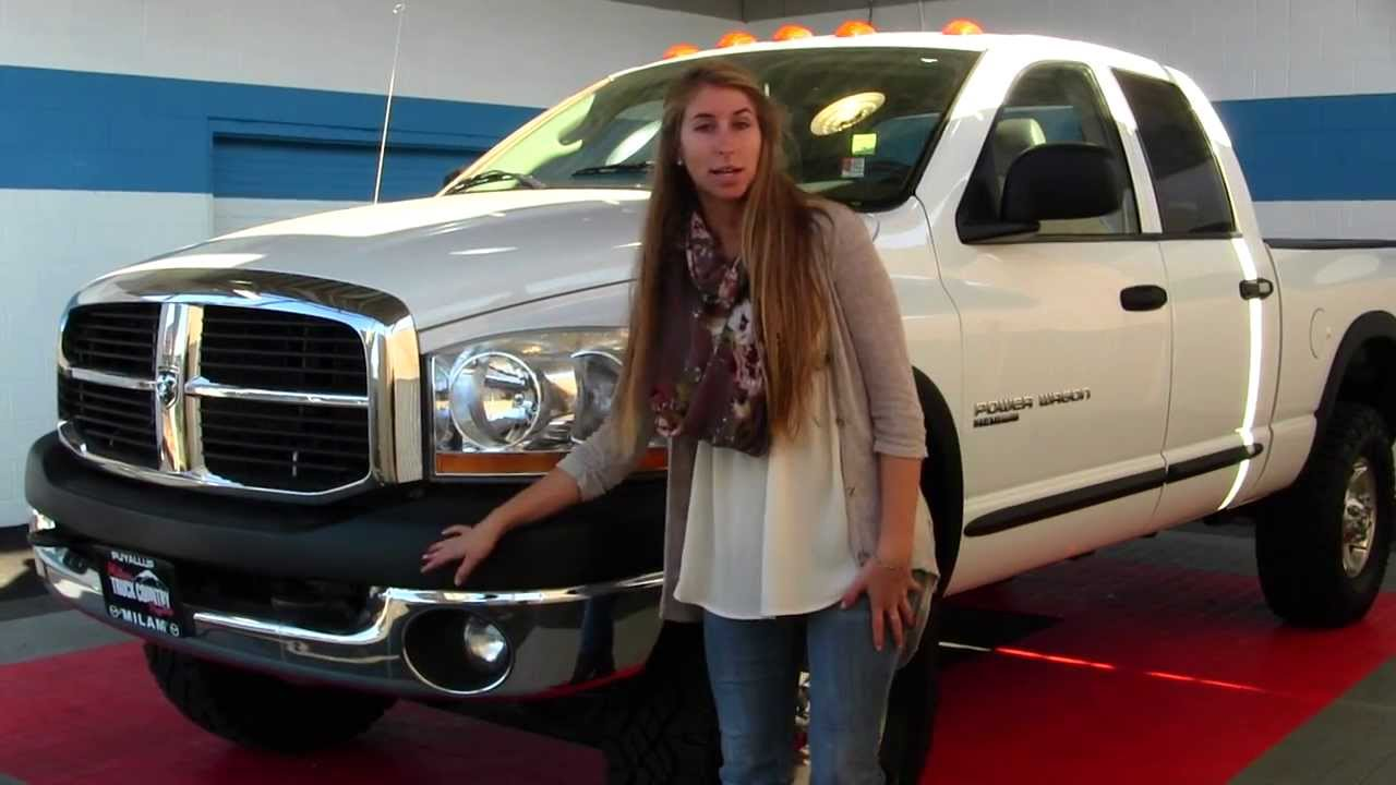The Ram Puyallup >> Virtual Walk Around Tour of a 2006 Dodge Ram Power Wagon at Milam Truck Country in Puyallup, WA ...