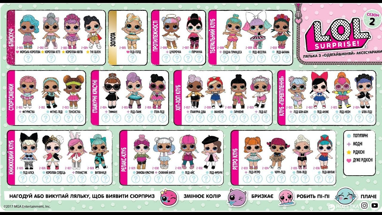 куклы лол новые Lol Surprise Dolls раскраска лол
