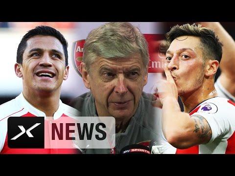 Mesut Özil und Alexis Sanchez? Arsene Wenger spricht Machtwort! | FC Arsenal
