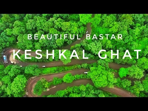Most talked place in bastar keshkal ghat (valley)