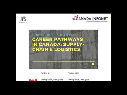 Careers In Canada:  Supply Chain And Logistics
