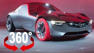 Opel GT Concept | Geneva Motor Show 2016 | 360° Video