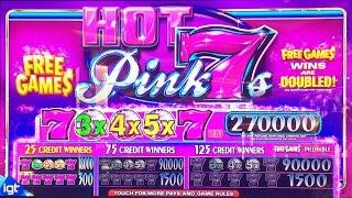 ++NEW Hot Pink 7s slot machine, DBG