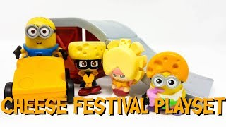 New Despicable Me 3 Minions Cheese Festival Minion Playset