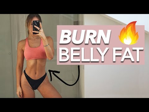 Lose Belly Fat Workout (Get Rid Of It!) - At Home & No Equipment 10 Mins