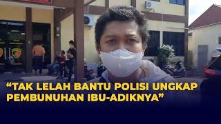 Meski Lelah Diperiksa, Yoris Siap Bantu Polisi Ungkap Pembunuhan Ibu-Anak di Subang