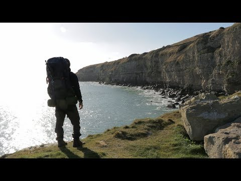 2 Days Camping Alone In A Tent On A Clifftop - Fishing, Hiking & Filming