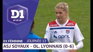 J13 : ASJ Soyaux Charente - Olympique Lyonnais (0-6) / D1 Féminine