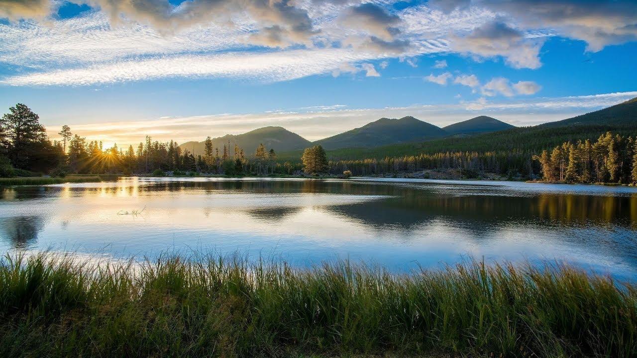 """【リアル環境音BGM】湖のほとりで(Nature Music for Working """"At the Lakeside"""")"""