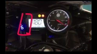 Tune boss + Quick Shifter Yamaha R15 Top Speed 183 Km/h on Dyno Test