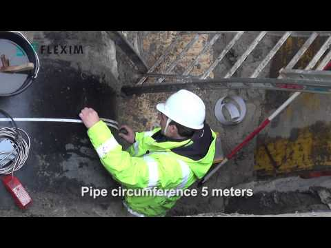 clamp-on-flow-measurement-in-buried-pits