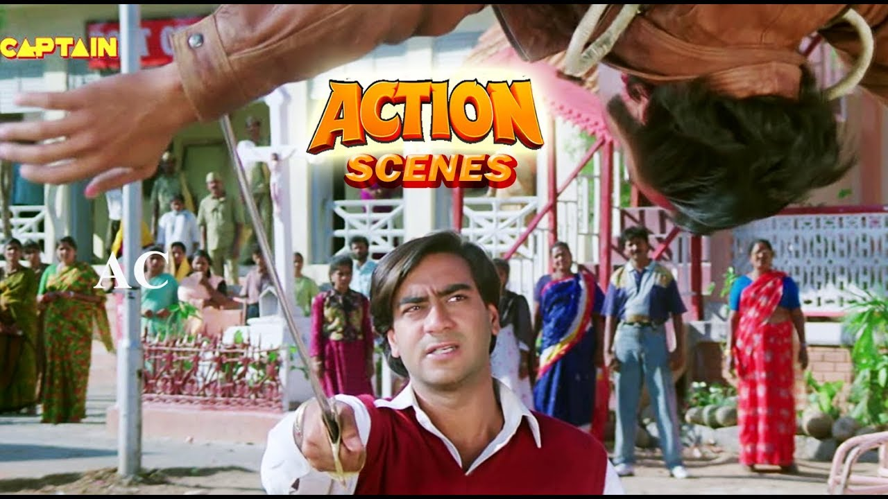 Download Ajay Devgan Action Scenes - Bollywood Action Dhamaka Movie
