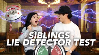 SIBLINGS LIE DETECTOR TEST (EXPOSED) | Ranz and Niana