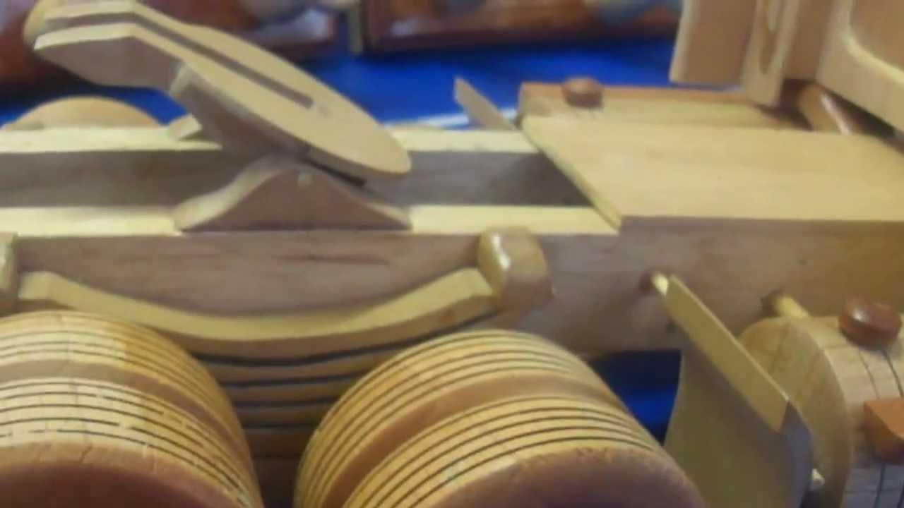 tractomulas de madera