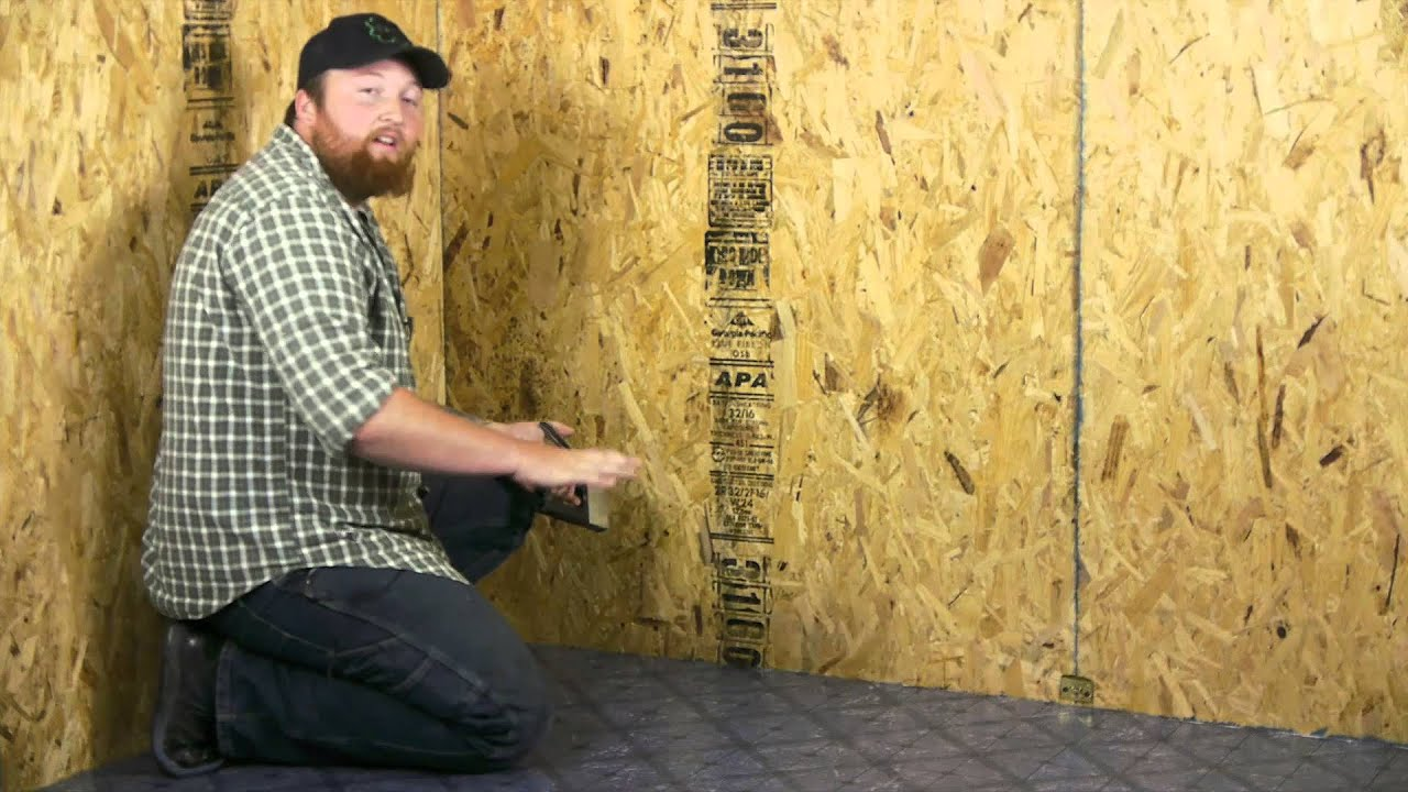 Installing A Glueless Vinyl Floor : Flooring Projects   YouTube
