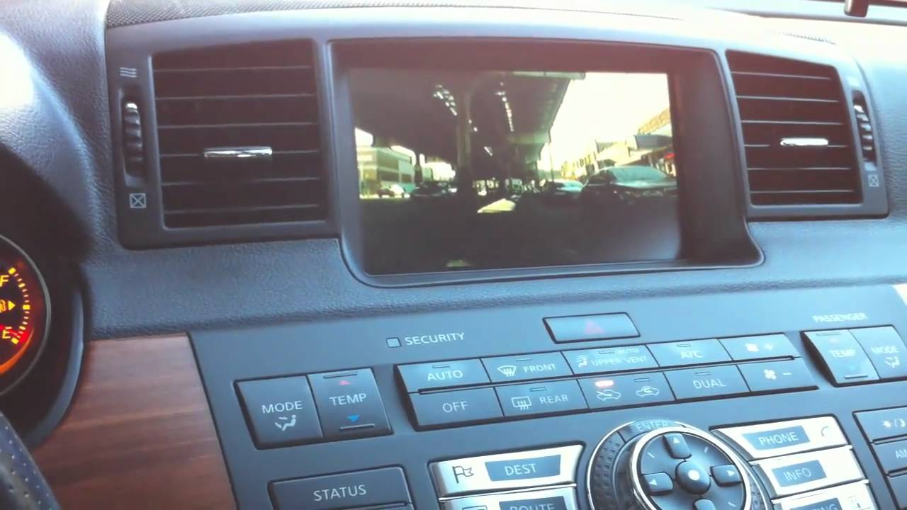 2006 infiniti m35 rear view camera youtube 2006 infiniti m35 rear view camera vanachro Choice Image