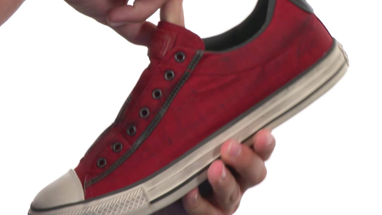 3bd8cb2ef443 Converse by John Varvatos Chuck Taylor® All Star® Vintage Slip Painted  Nylon Ox SKU 8709616