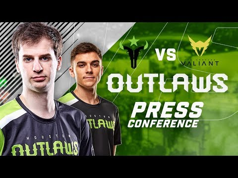 Houston Outlaws Press Conference Stage 3 Week 4 (Los Angeles Valiant)