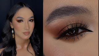 Макияж для карих и чёрных глаз Вечерний макияж Коммерческий макияж