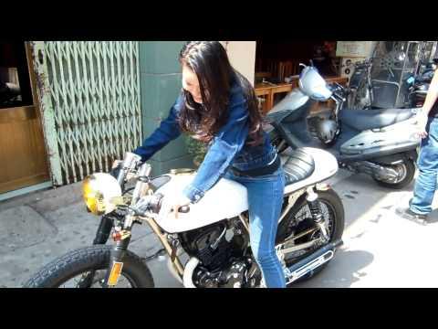 CB200 Cafe Racer (VietNam Vintage Motocyle)